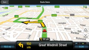 navigacija za android